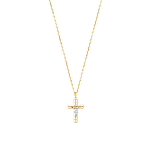 THE PERUGIA CROSS PENDANT NECKLACE