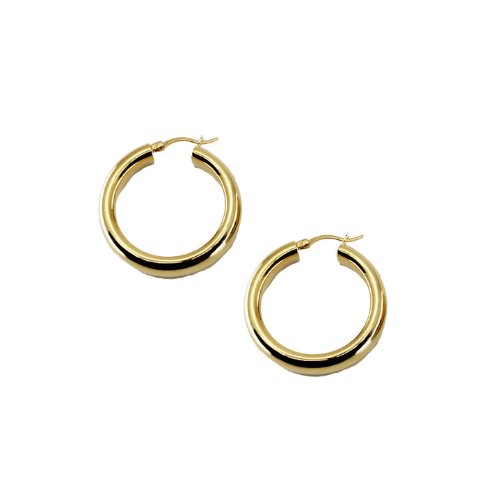 THE SADIE THICK HOOP EARRINGS