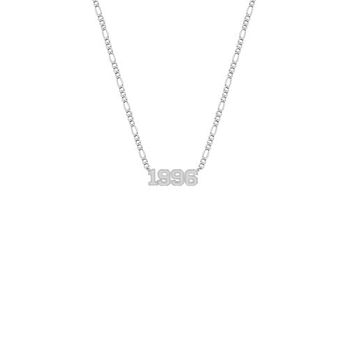 THE YEAR NAMEPLATE NECKLACE