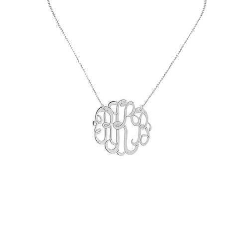THE MONOGRAM NECKLACE - LARGE