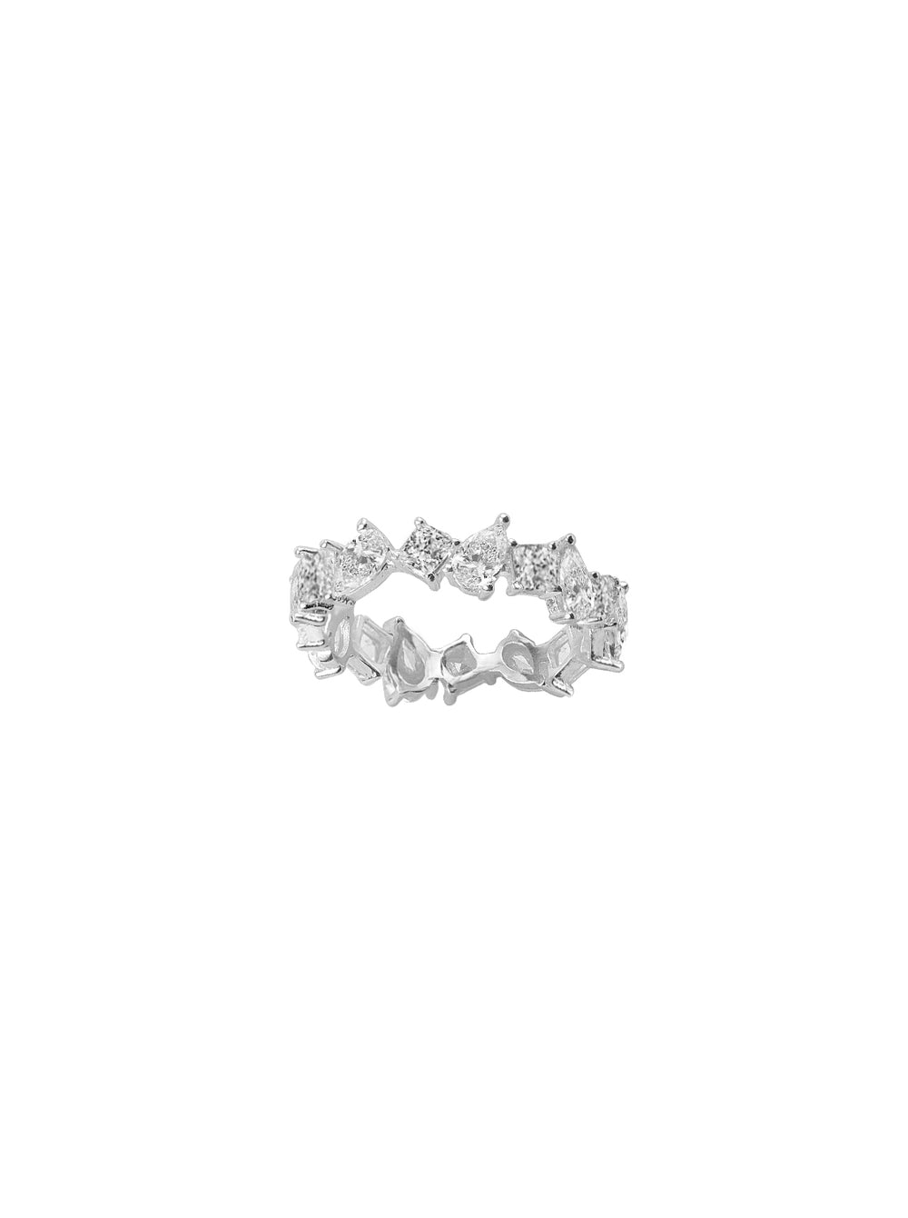 THE MULTI-CUT ETERNITY BAND (CHAPTER II BY GREG YÜNA X THE M JEWELERS)