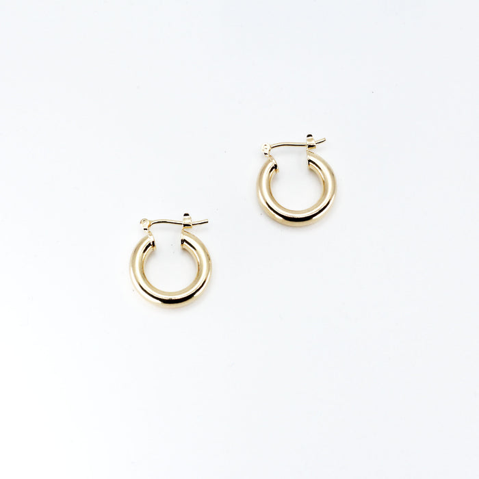 THE SMALL RAVELLO HOOPS