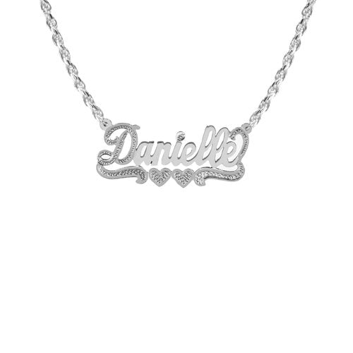 THE CLASSIC ROPE NAMEPLATE NECKLACE