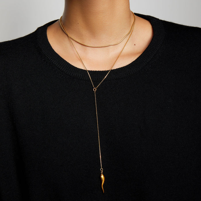 THE THIN HERRINGBONE CHOKER