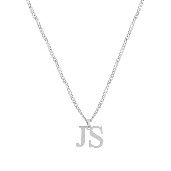 TIMES TWO BLOCK PENDANT (MENS)