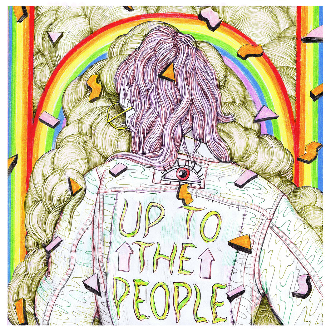 Up To The People Single Artwork