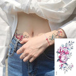Rose Lace Temporary Tattoo