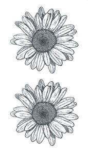 Vintage Small Sunflowers Tattoo Vintage Small Sunflowers Tattoo