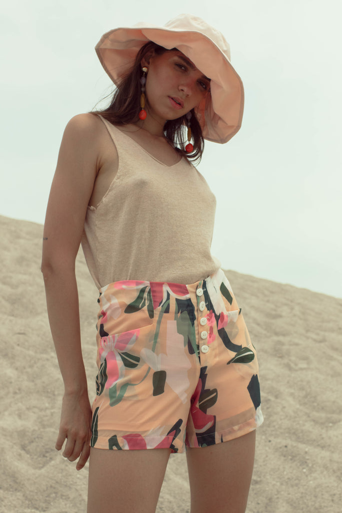 Ruri Printed Shorts