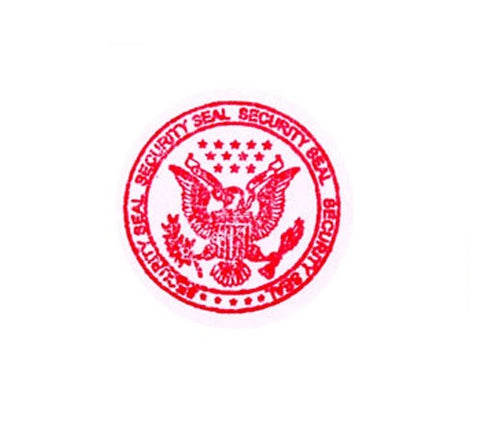 Eagle Security Seal - Rubber Stamp