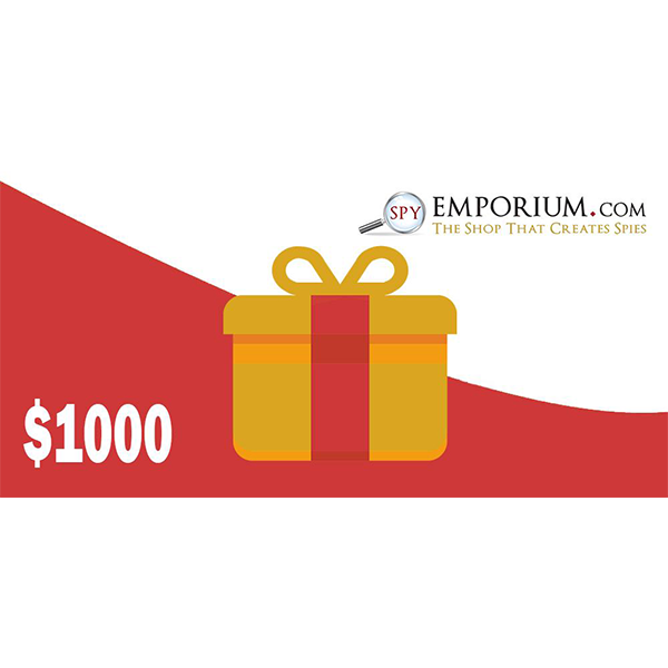 $1000 spy emporium gift card