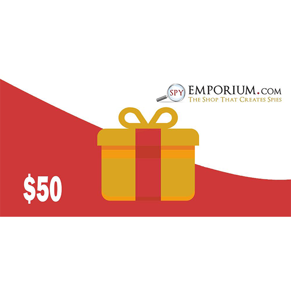 $50 spy emporium gift card