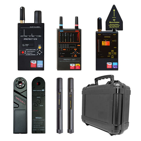 Professional Detection and Counter Surveillance Investigation Sweep Kit