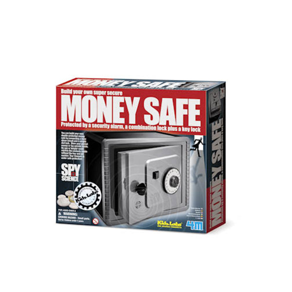 4M Kidz Labs® Spy Science Money Safe