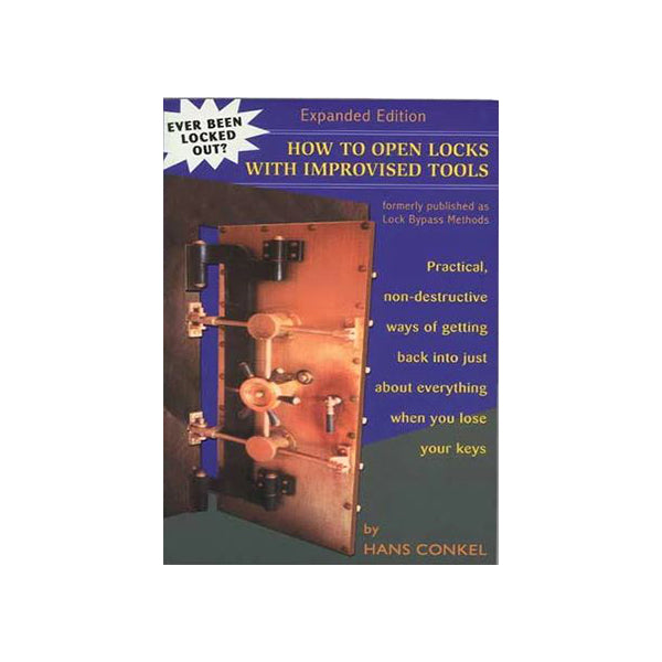 How To Open Locks With Improvised Tools Book