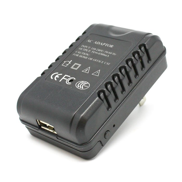 USB Travel Charger Wi-Fi Covert HD Camera