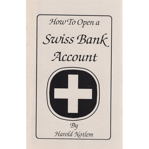 How to Open a Swiss Bank Account Book