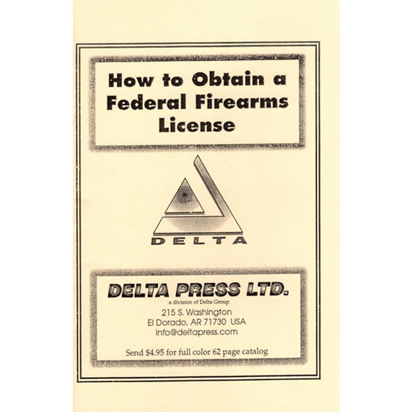 How To Obtain Gun Dealers Licenses Book