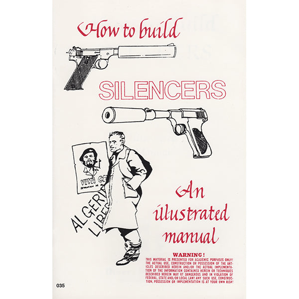 How To Build Silencers Book