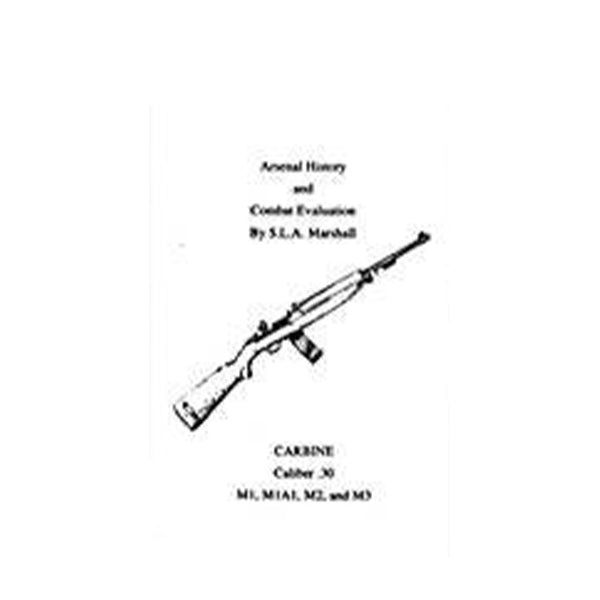 M1 Carbine Combat Evaluation Book