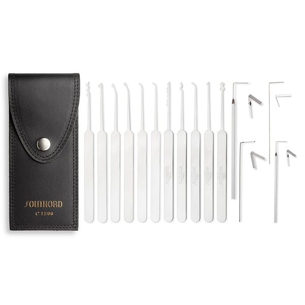 15 Piece Slim Line Lock Pick Set