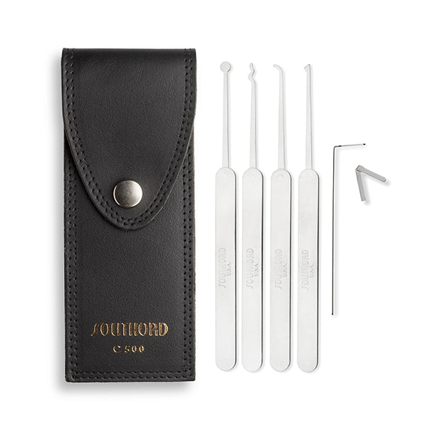 5 Piece Slim Line Set w/ Metal Handles