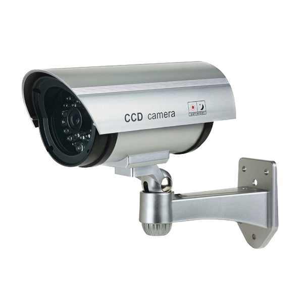 Dummy Silver Bullet Camera w/ Blinking Red LED
