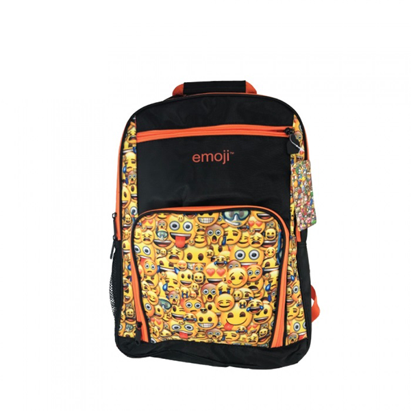 Bulletproof Kids Emoji™ Backpack (Orange) - School Kids Body Armor