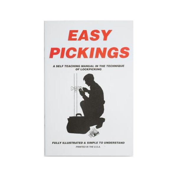 E-Z Picking Lockpicking Book