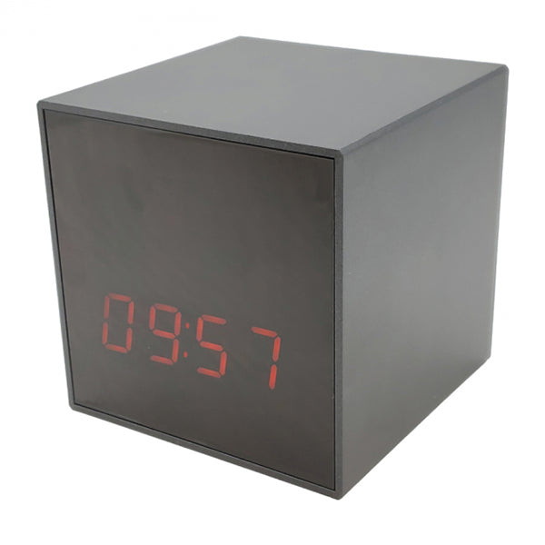 Smart Cube Digital Clock Nightvision Wi-Fi HD Hidden Camera