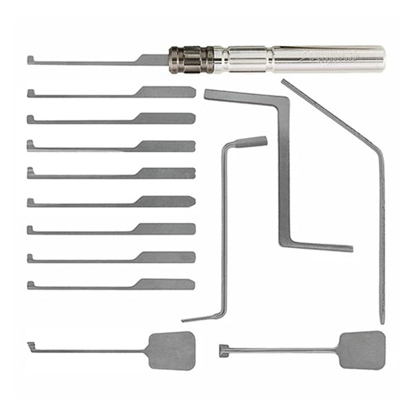 15 Piece Dimple Lock Pick Set