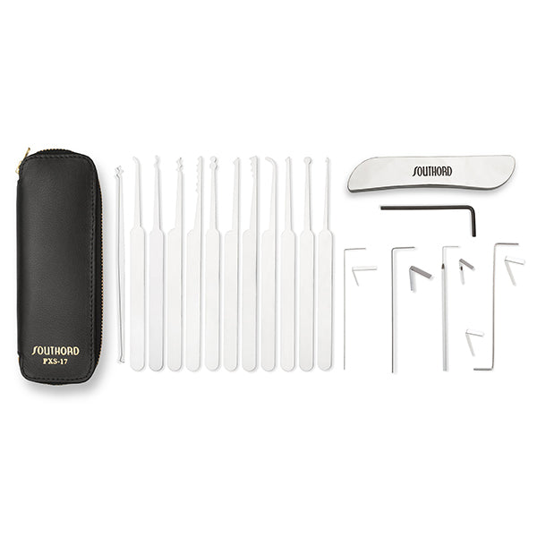 17 Piece Lock Pick Set