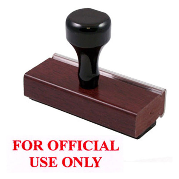 FOR OFFICIAL USE ONLY - Rubber Stamp
