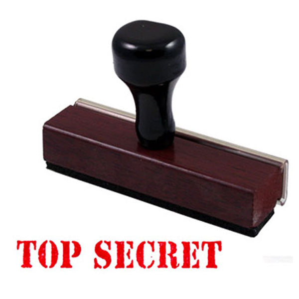 TOP SECRET - Rubber Stamp