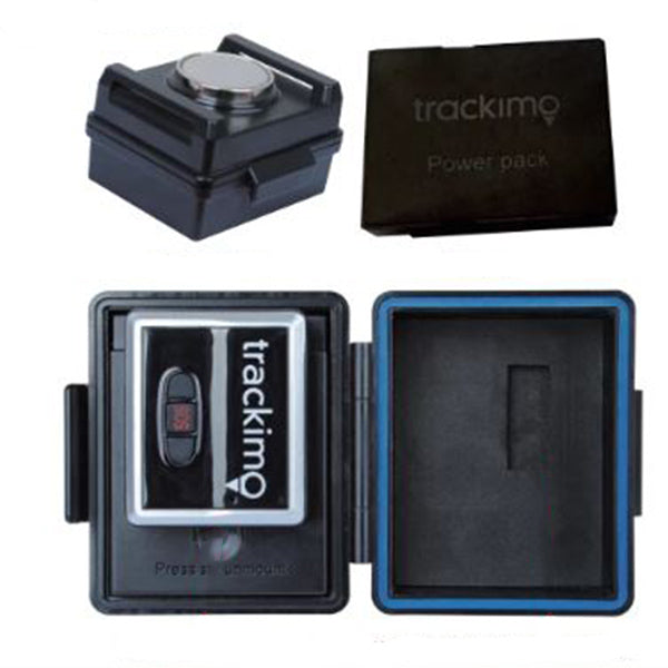 Trackimo 3G GPS Tracker + Extended Battery + Mini Magnetic Case & 1 Year Unlimited Service