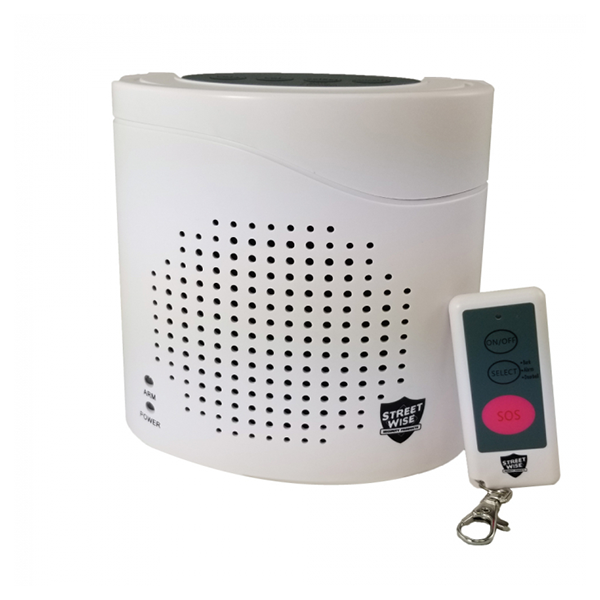 Virtual K9 Barking Dog Alarm with remote