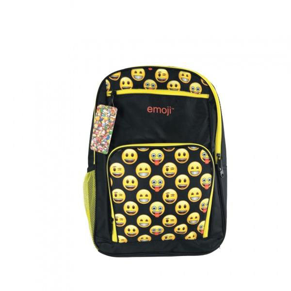 Bulletproof Kids Emoji™ Backpack (Yellow) - School Kids Body Armor