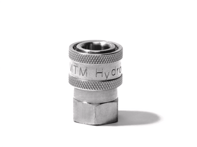 MTM Hydro Stainless Steel Quick Connect Couplers