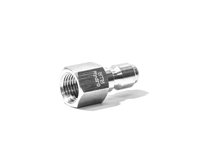 "MTM Hydro Stainless Steel Plugs 3/8"" FPT"
