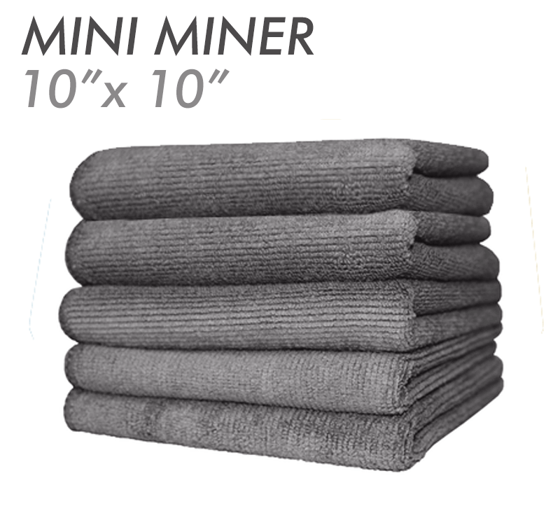 Mini Miner Dual-Pile Utility Towels