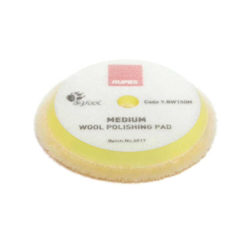 Rupes Medium Yellow Wool Pad