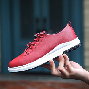 Men's Waterproof Microfiber Casual Shoes