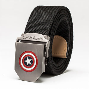 Leisure Automatic Canvas Blackhawk Tactical Nylon Belt For Boys