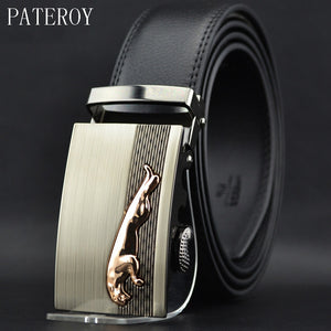 Pateroy Men's Luxury Belt Genuine Leather