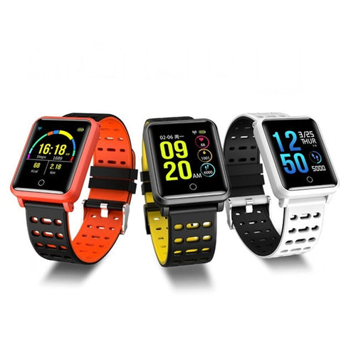 Unisex Smartwatch Waterproof Heart Rate Blood Pressure Monitor Sport Bracelet Fitness Track Band Alarm Clock