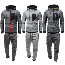 Load image into Gallery viewer, Men's Casual Sports Hooded Cardigan