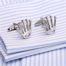 Load image into Gallery viewer, Gran Nombre Crown Cufflinks