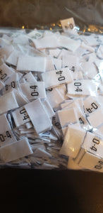Assorted Size Tags