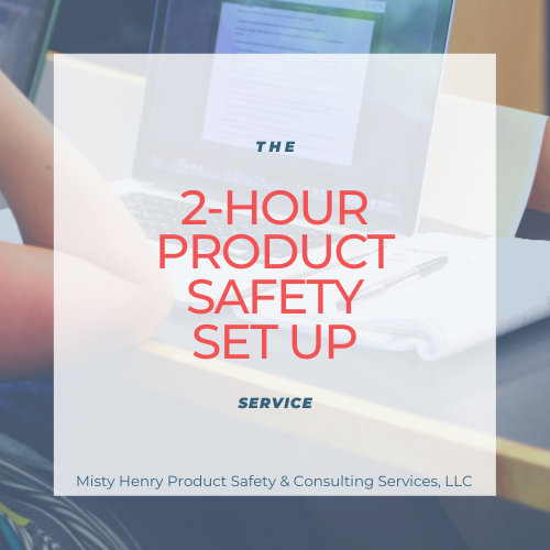 2-Hour Product Safety Set Up