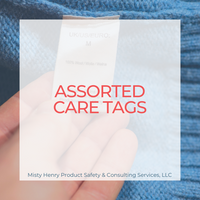 Assorted Care Tags
